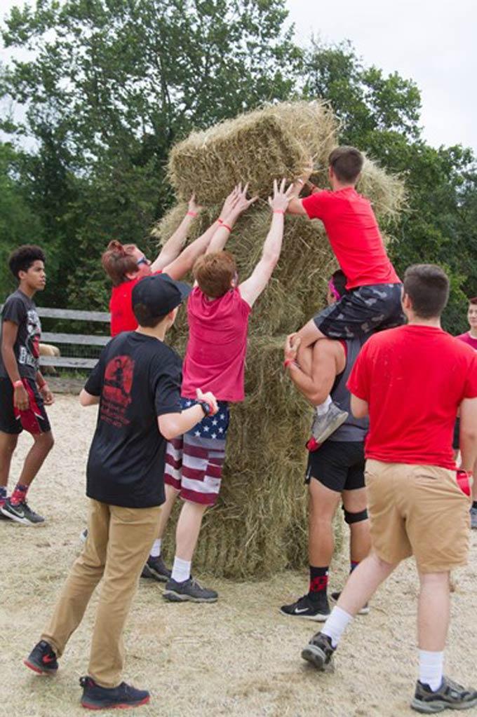 restoration farm multi church teen activity